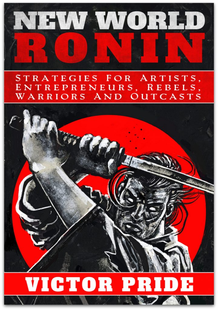 New World Ronin by Victor Pride book cover